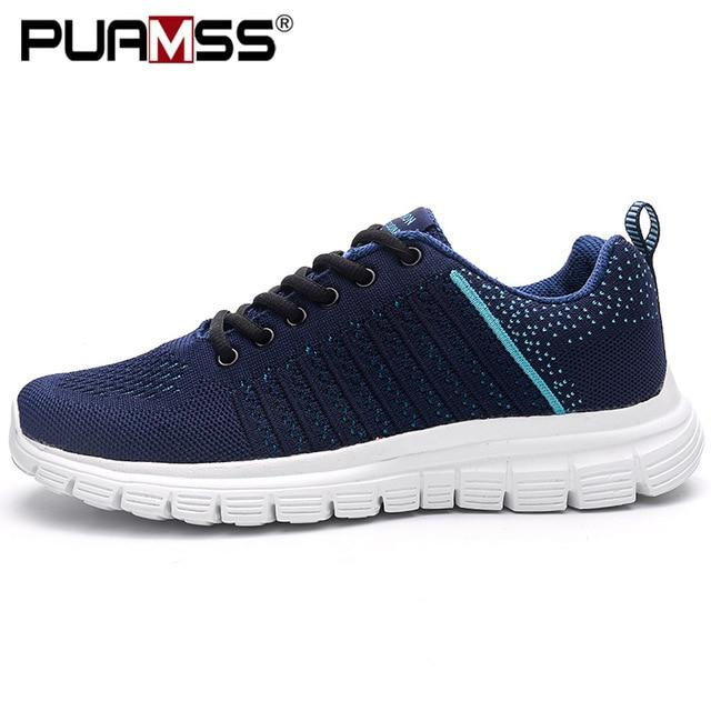 Men Casual Shoes Lac-up Men Shoes Lightweight Comfortable Breathable Walking Sneakers - GoJohnny437