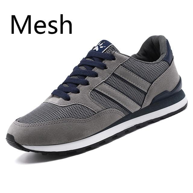 Men Casual Shoes Light Artificial Leather Sneakers 2020 New Autumn Comfort spring Outdoor Breathable Casual Flats Shoes Men - GoJohnny437