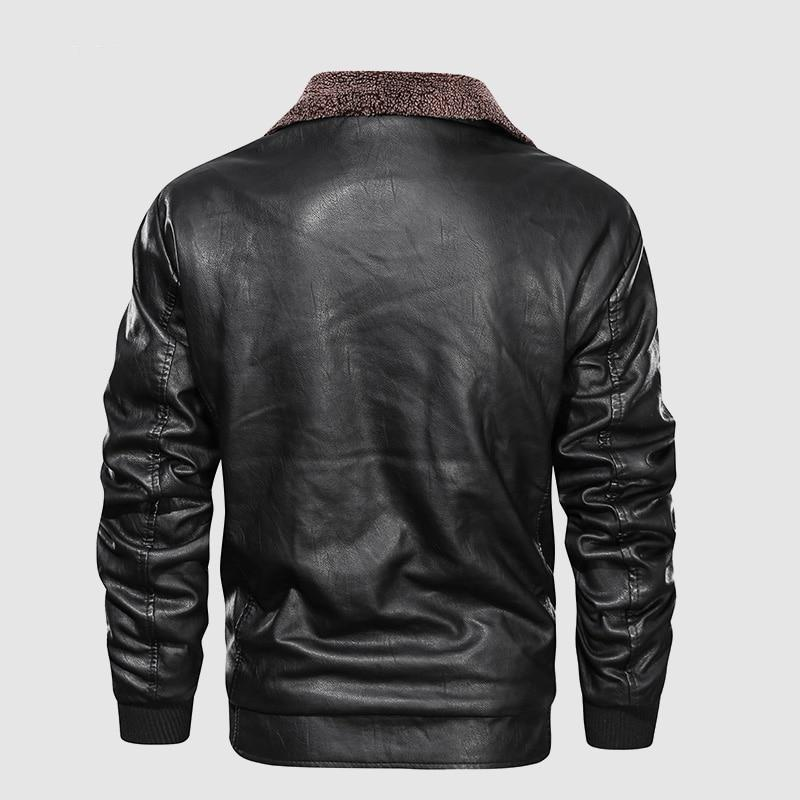 Mens Leather Jacket - GoJohnny437