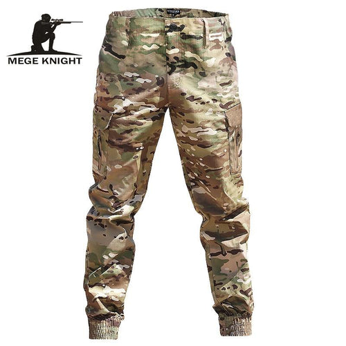 Mens Streetwear Casual Camouflage Jogger Pants Tactical Military Trousers Men Cargo Pants - GoJohnny437