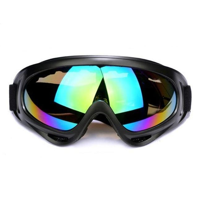 Skiing Eyewear Outdoor Sports Glasses Ski Goggles UV400 Dustproof Cycling Sunglasses Winter Windproof Skiing Glasses Goggle - GoJohnny437