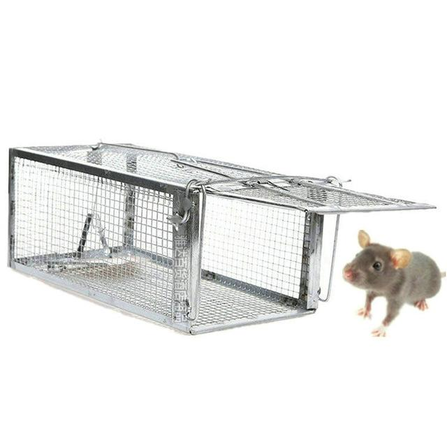 Smart Humane Live Mouse Trap No Kill Animal Pet Control Cage Reusable Mice Rodent Catcher Automatic Lock Mousetrap Rat Traps - GoJohnny437