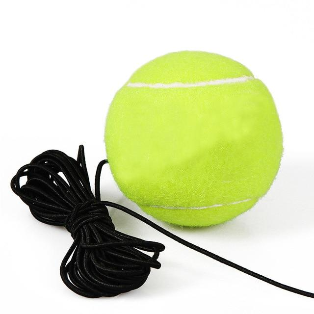 Tennis trainer single-player Tool Exercise Tennis Ball Sport Self-study Rebound Ball With Tennis ball Baseboard cricket dampener - GoJohnny437