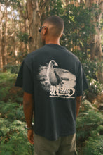 Load image into Gallery viewer, Pukeko T-Shirt - Vintage Black