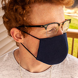 BLANK Upcycled T-Shirt Face Mask with Pocket for Filter - Sold in Bundles