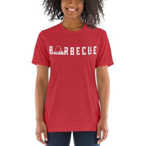 Arch City Barbecue T-Shirt (White logo)