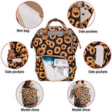 Diaper Bag Backpack, Women Waterproof Travel Nappy Bag for Baby Care