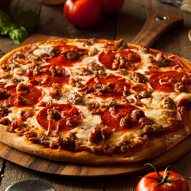 Meat Lovers Pizza - Ready Made Meal Delivery.com