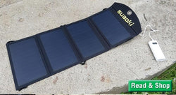 5 Best Portable Solar Charger Panel