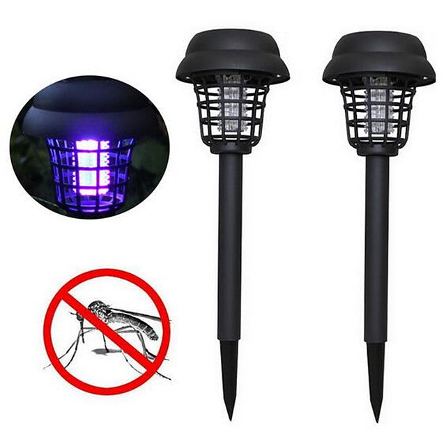 1pc 5 W Solar Powered Purple 3.7 V 1 LED Beads