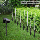 Lawn Landscape Decoration Garden Stick Stake Light Lamp Set