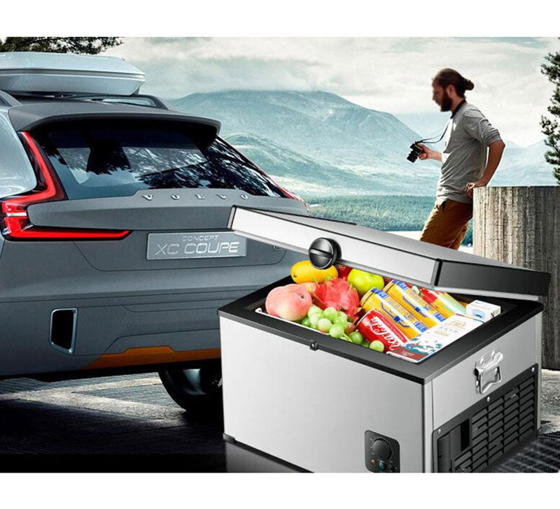 Refrigerator 35 L 12 V Auto-Refrigerator Mini Fridge Car Refrigerator Portable Cooler Vehicle Car Fridge