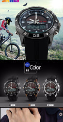 New Outdoor Brand Quartz Men's Watches Casual Chronograph Sports Waterproof