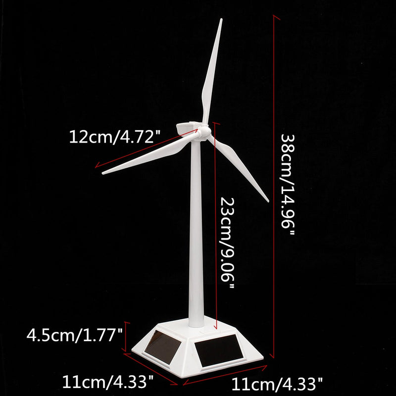 Solar Wind Generator Model and Exhibition Stand Windmill Educational Assembly Kit