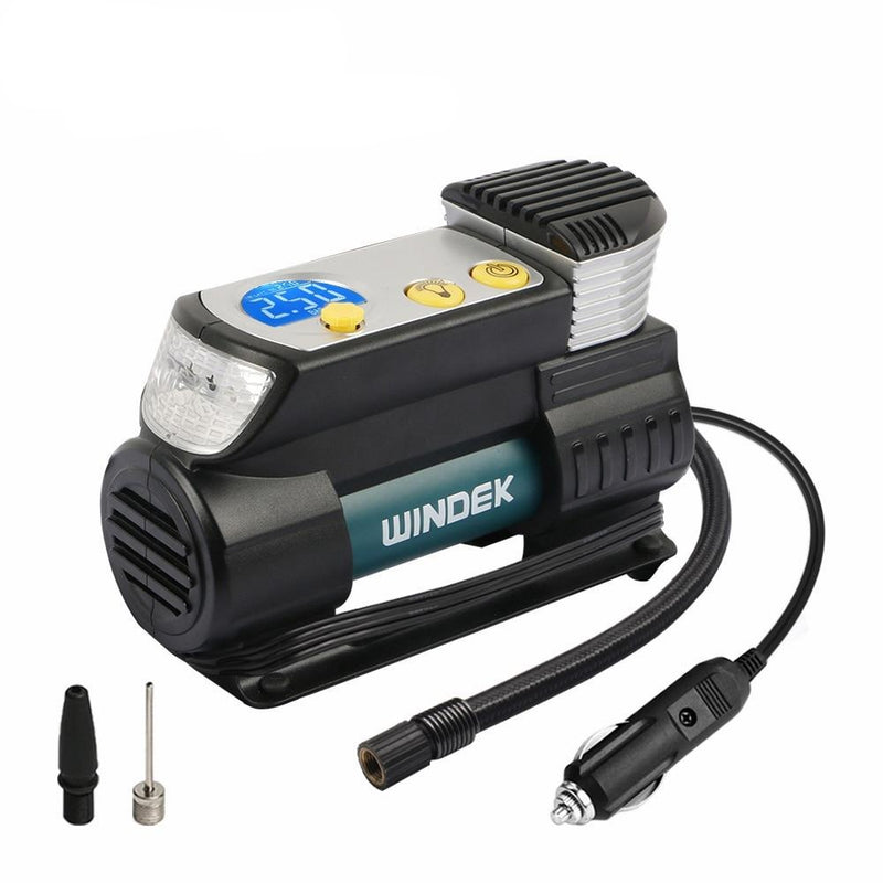 Digital Car Tire Auto Compressor 12 V Super Fast Air Compressor For Car SUV Tires