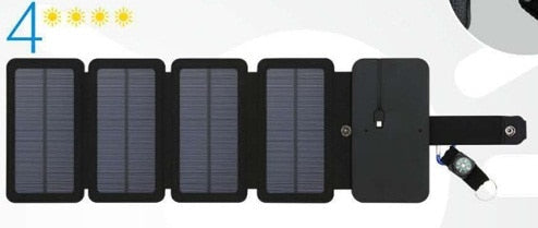 20 W folding Solar Panels Cells Charger battery sun power USB Output fast charging Devices Portable for Smartphones