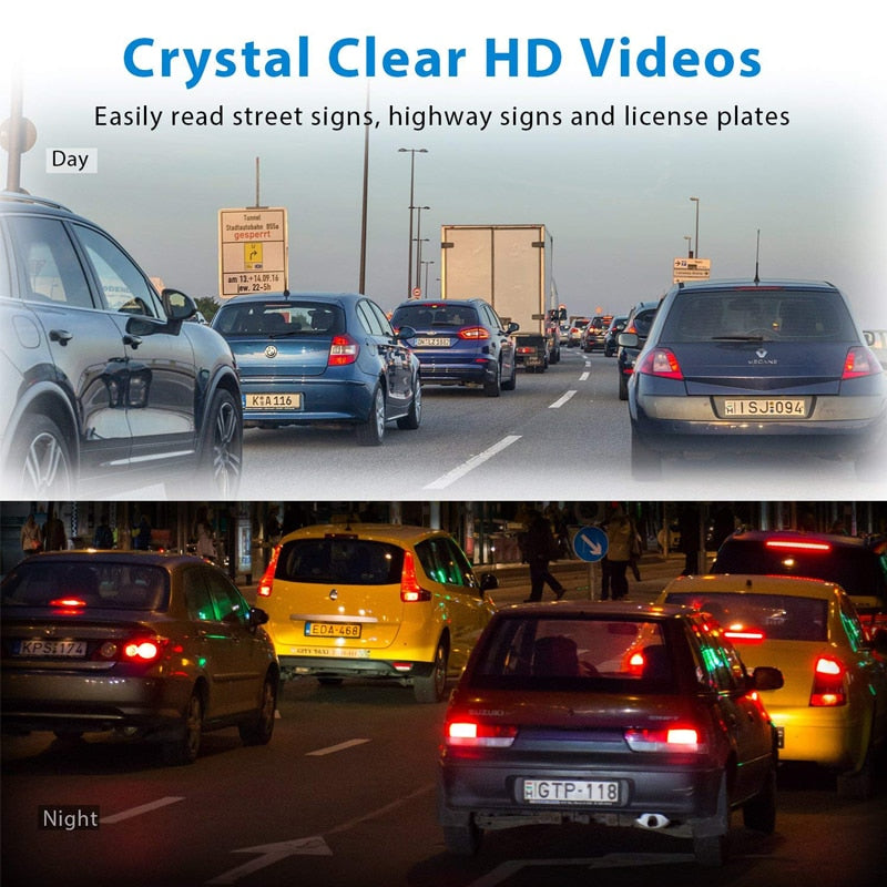 Full HD 1080P Min Car DVR Camera for Android Multimedia G-sensor car DVR