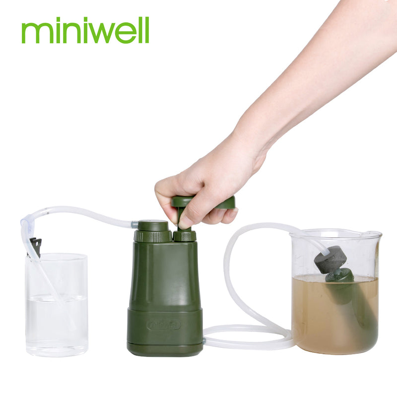 Water Purification mini Pump Filter Purifier for Hiking, Camping, Fishing,Travelling