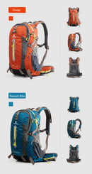 Camping Hiking Backpack Sports Bag Outdoor Travel Backpack 40 50 L