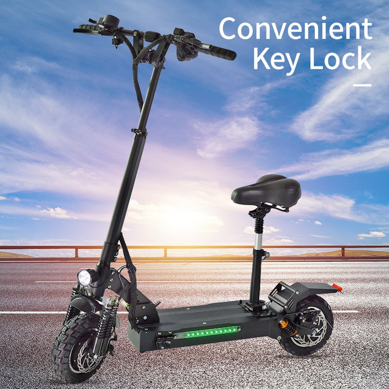 Off Road 60 V Electric Scooter Halo Knight Fold-able 2400 W 70 km/H E Scooter For Adults