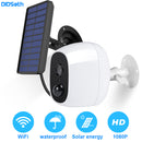 1080P Outdoor Solar Camera Wifi Wireless Rechargeable Battery IP Camera PIR Motion Sensor Security Video Surveillance