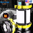 Portable LED Camping Lantern Work Light Outdoor Tent Light Handheld Flashlight USB Rechargeable Port Spotlight