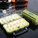 20CM Fishing Tackle Box 28 Grids Compartments 4Color Fish Lure Line Hook Fishing Tackle Fishing Accessories Box