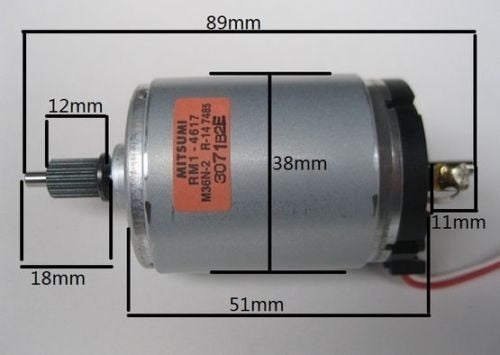 545 DC DC12V-38V generator High-quality motor wind turbines 2400-6800 RPM