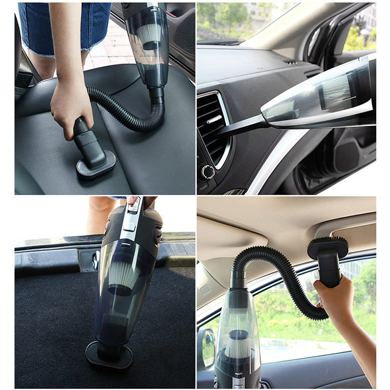 Handheld Vacuum Cordless Powerful Cyclone Suction Rechargeable  Quick Charge for Car Home Pet Hair