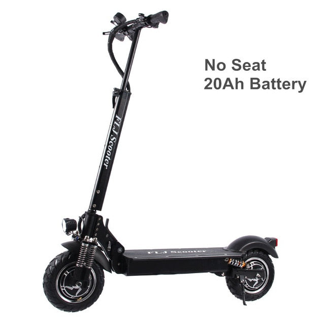 2400W Adult Electric Scooter with seat foldable