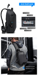 2020 New crossbody bag for men Multifunction Anti-theft Waterproof