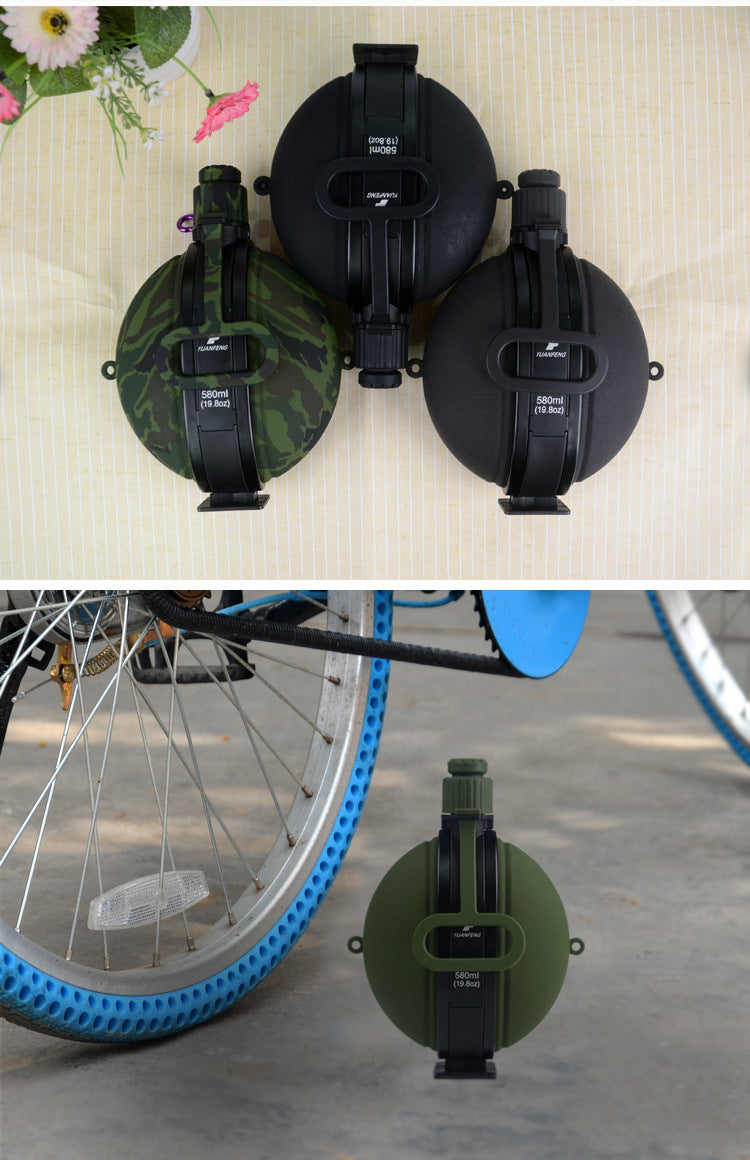 580ml Collapsible Military Water Bottle