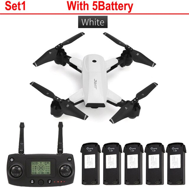 JJRC H78G 5G WiFi FPV 1080P Wide Angle HD Camera GPS Dual Mode Positioning Foldable RC Quadcopter RTF Professional Drone toys