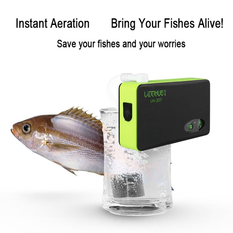 Small Three-In-One Induction Charging Pumping Oxygen Pump Fish Oxygen Pump
