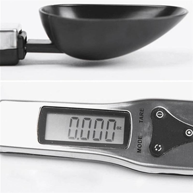 300g/0.1g Portable LCD Digital Kitchen Scale Measuring Spoon High Quality