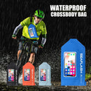 Waterproof Cross Body Cycling Chest Bag Touchscreen Phone Case Phone Bag 7.2 inch