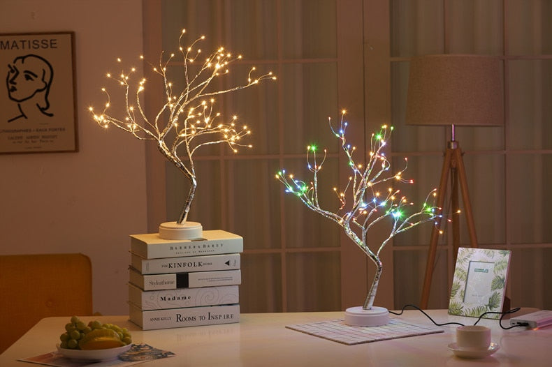 Mini Christmas Tree LED Night Light