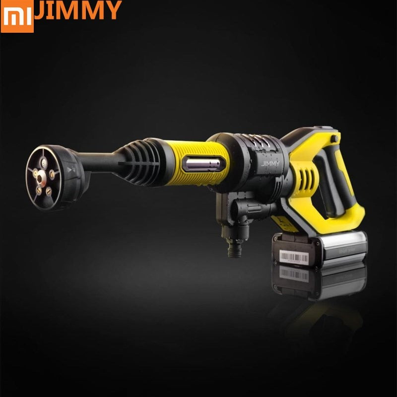 Original xiaomi Jimmy Handheld Wireless Washing Gun 180W 2.2MPA 180L/H High Press Washing Gun for Home Outdoor Car Clean Washing