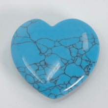 Load image into Gallery viewer, Turquoise Howlite Mini Heart