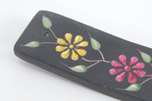 Load image into Gallery viewer, Soapstone Incense Holder - Floral