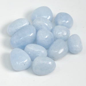 Blue Calcite - Tumbled