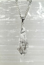 Load image into Gallery viewer, Necklace - Tourmalinated Quartz