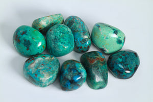 Chrysocolla - Tumbled