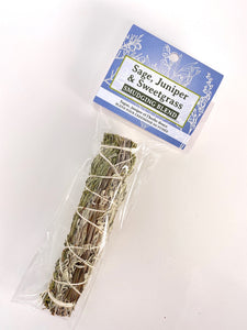 Sage Juniper & Sweetgrass Smudge Blend