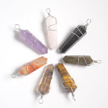 Load image into Gallery viewer, Wire Wrapped Crystal Pendant