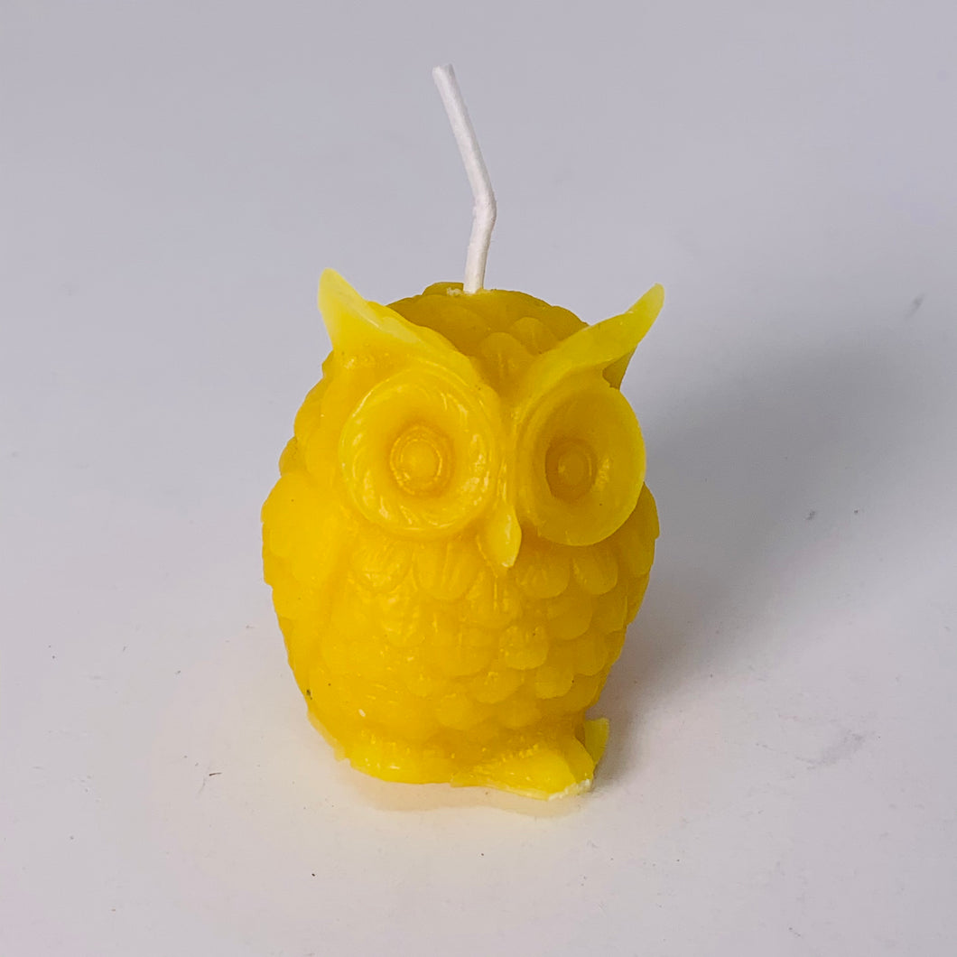 Beeswax Candle - Owl