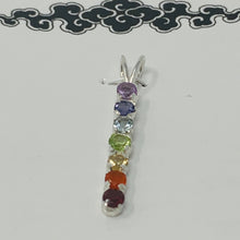 Load image into Gallery viewer, Pendant - 7 Chakra Stones