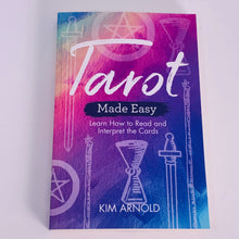 Load image into Gallery viewer, Tarot Made Easy by Kim Arnold