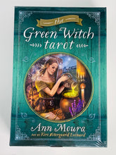 Load image into Gallery viewer, Green Witch Tarot Set