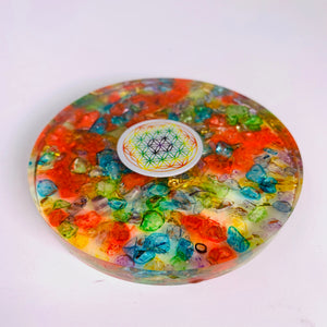 Orgone Charging Coaster